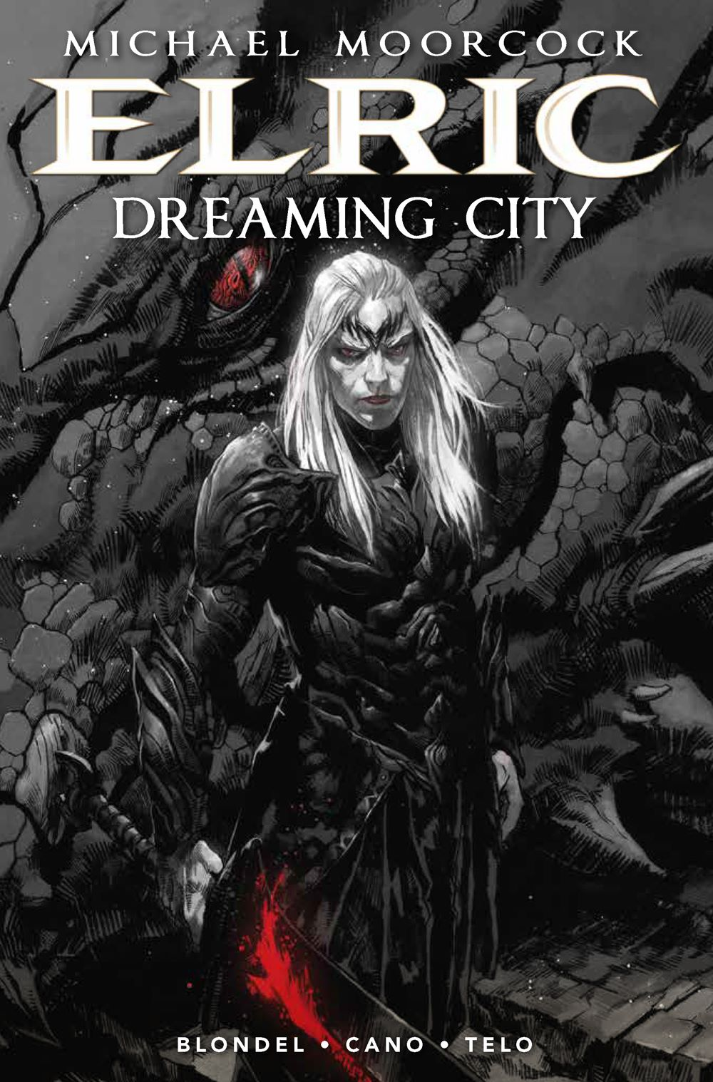 Elric_TheDreamingCity1_Cover_B Titan Comics August 2021 Solicitations