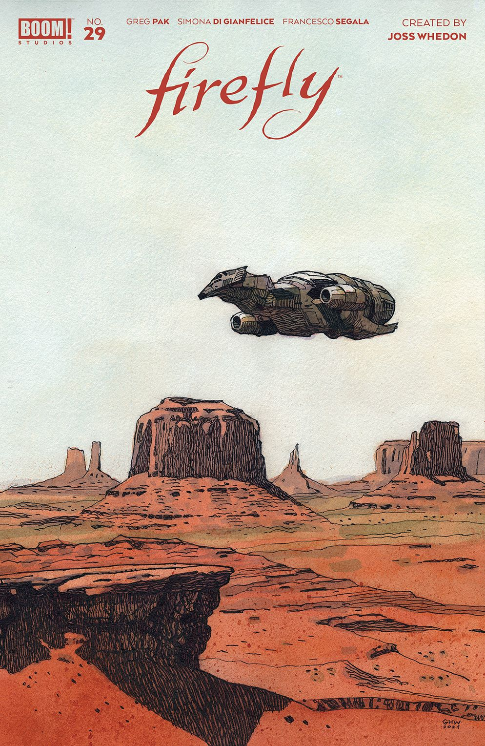 Firefly_029_Cover_B_Variant ComicList: BOOM! Studios New Releases for 05/26/2021