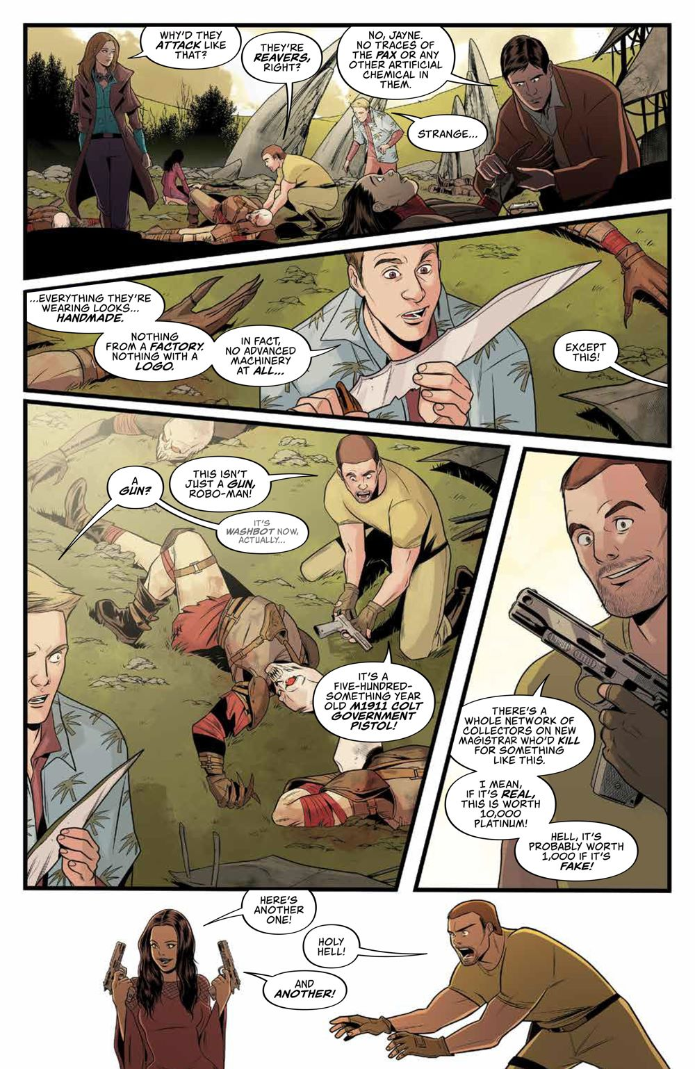 Firefly_029_PRESS_6 ComicList Previews: FIREFLY #29