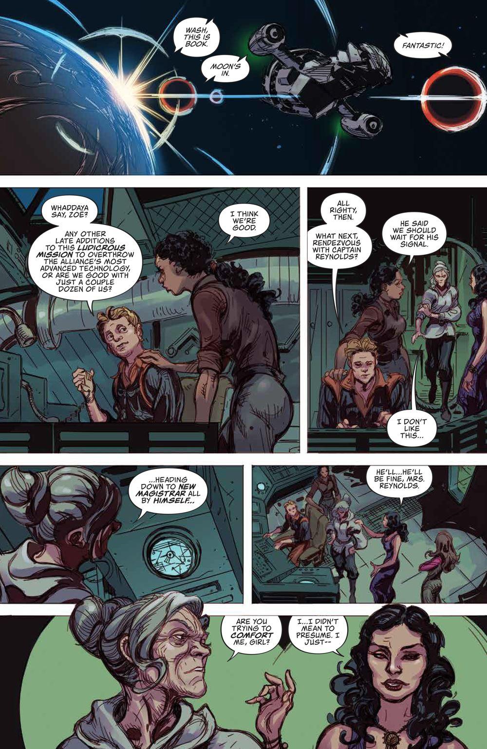 Firefly_BlueSunRising_v2_HC_18 ComicList Previews: FIREFLY BLUE SUN RISING VOLUME 2 HC