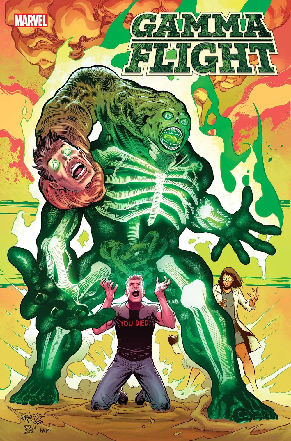 GAMMAFLIGHT2021003_Pacheco-connecting-var Marvel Comics August 2021 Solicitations