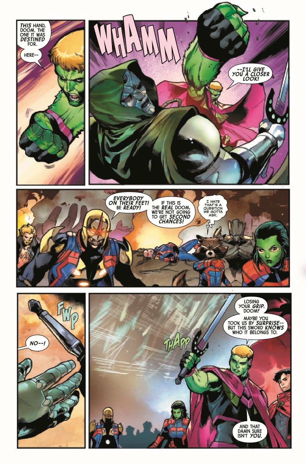 GARGAL2020014_Preview-4 ComicList Previews: GUARDIANS OF THE GALAXY #14