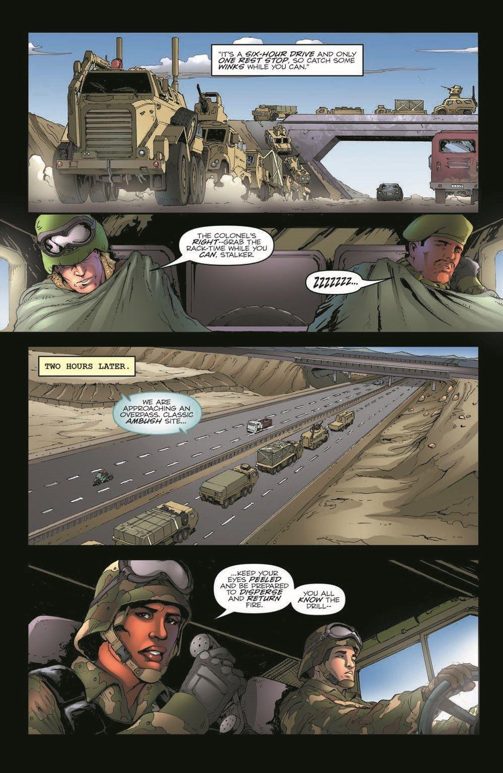 GIJoeRAH281-pr-6 ComicList Previews: G.I. JOE A REAL AMERICAN HERO #281