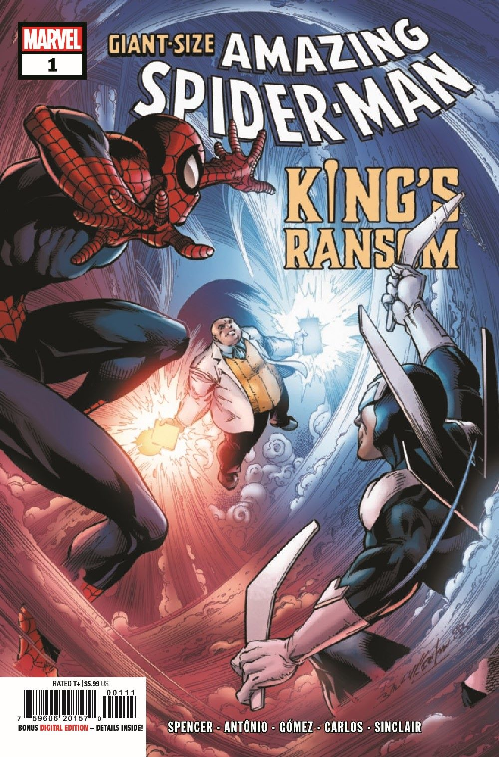 GSASMKINGR2021001_Preview-1 ComicList Previews: GIANT-SIZE AMAZING SPIDER-MAN KING'S RANSOM #1