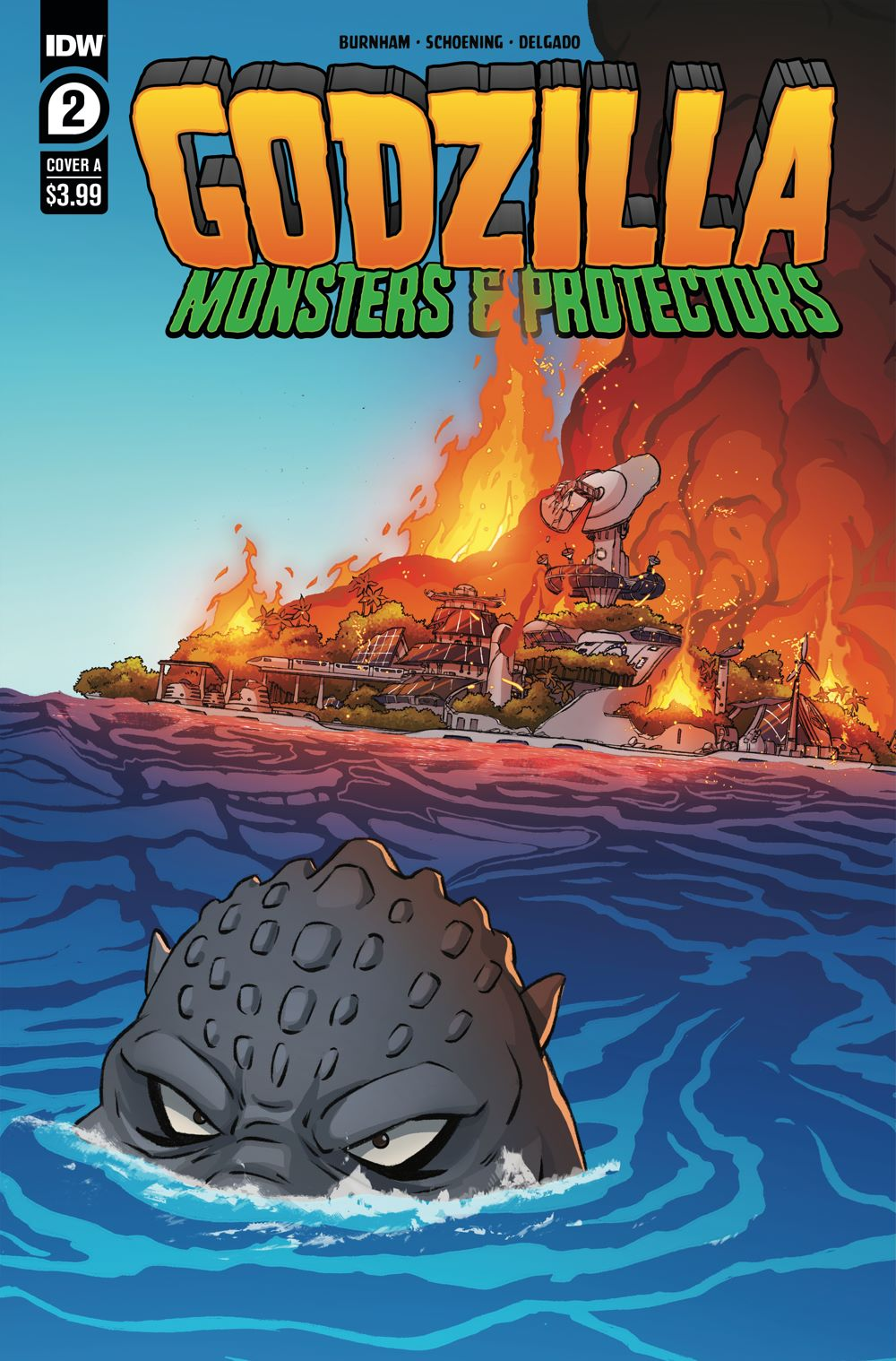 Godzilla_MP02-coverA ComicList Previews: GODZILLA MONSTERS AND PROTECTORS #2 (OF 5)