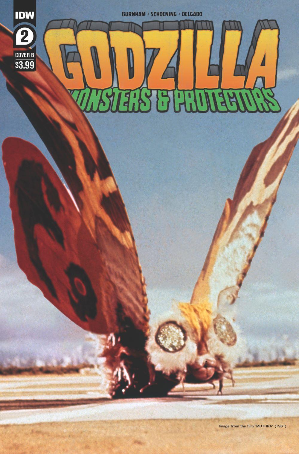 Godzilla_MP02-coverB ComicList Previews: GODZILLA MONSTERS AND PROTECTORS #2 (OF 5)