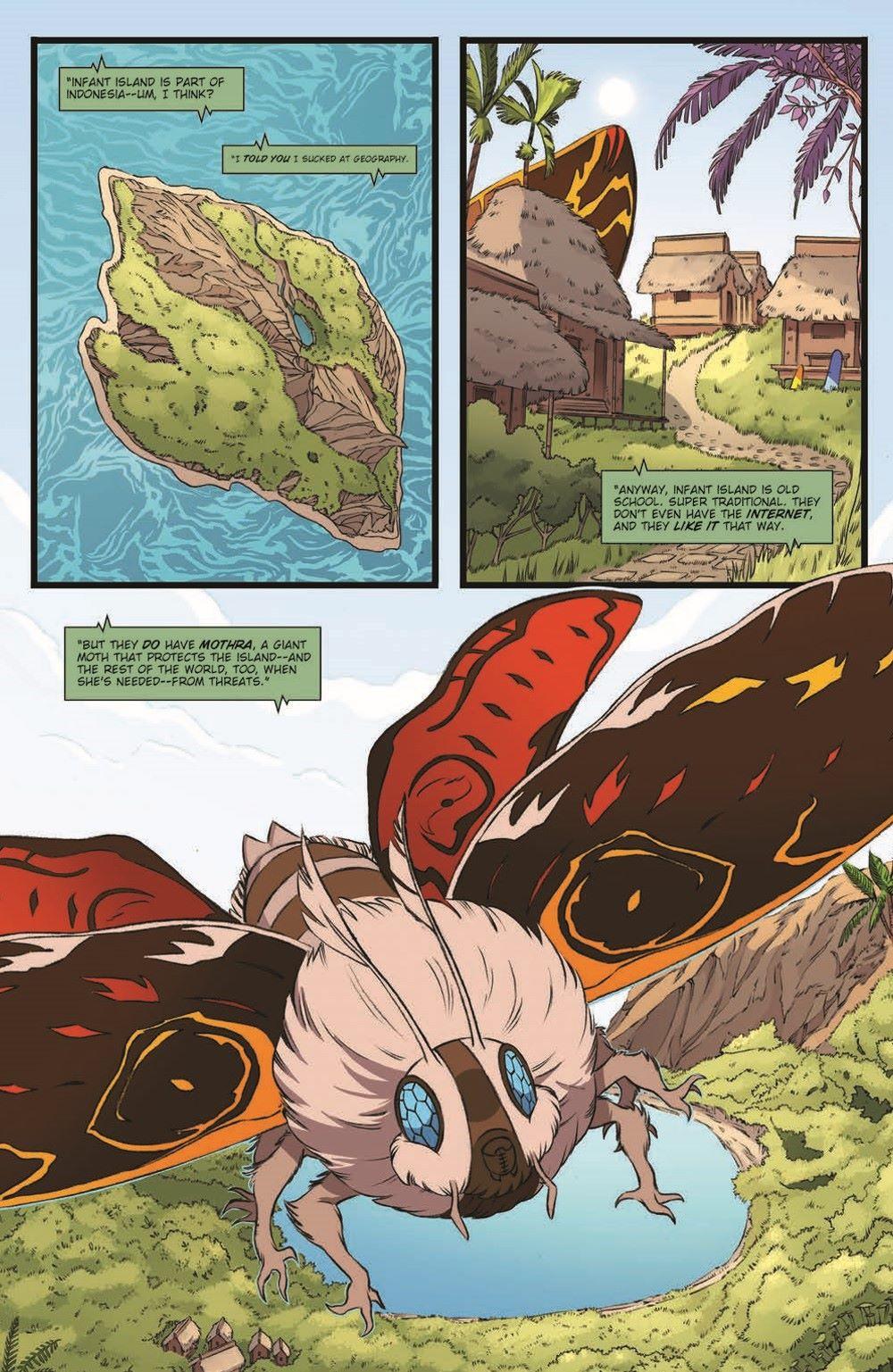 Godzilla_MnP_02_pr-4 ComicList Previews: GODZILLA MONSTERS AND PROTECTORS #2 (OF 5)