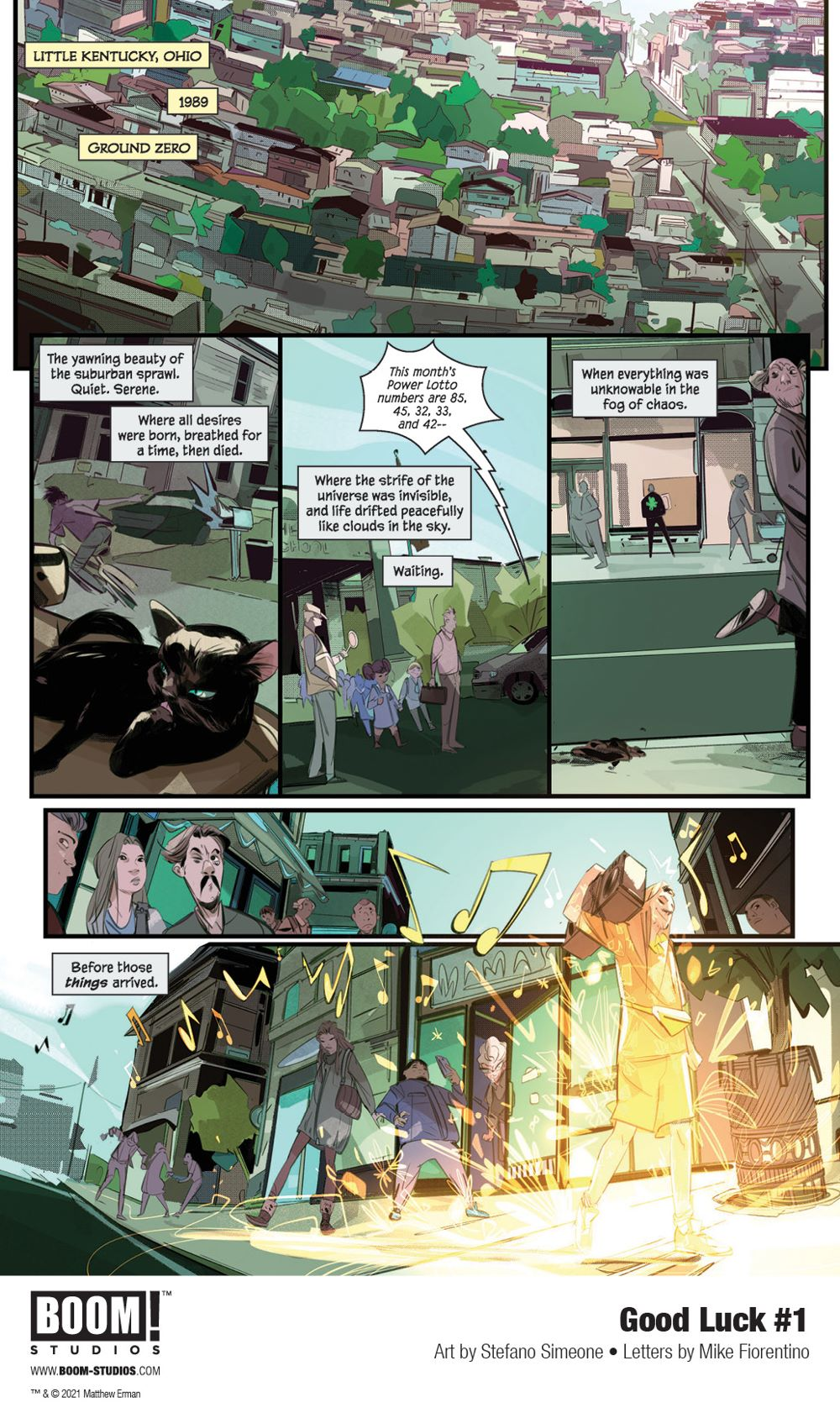First Look at GOOD LUCK #1 from BOOM! Studios - GoCollect