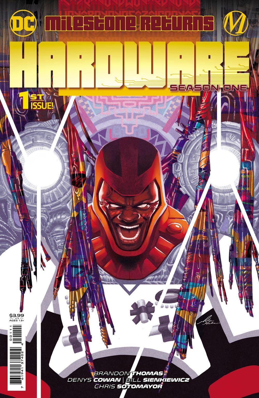 HARDWARE_S1_Cv1 DC Comics August 2021 Solicitations