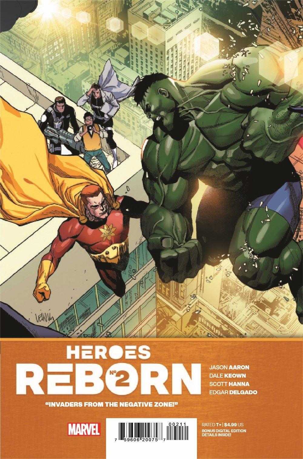 HEROESREBORN2021002_Preview-1 ComicList Previews: HEROES REBORN #2 (OF 7)