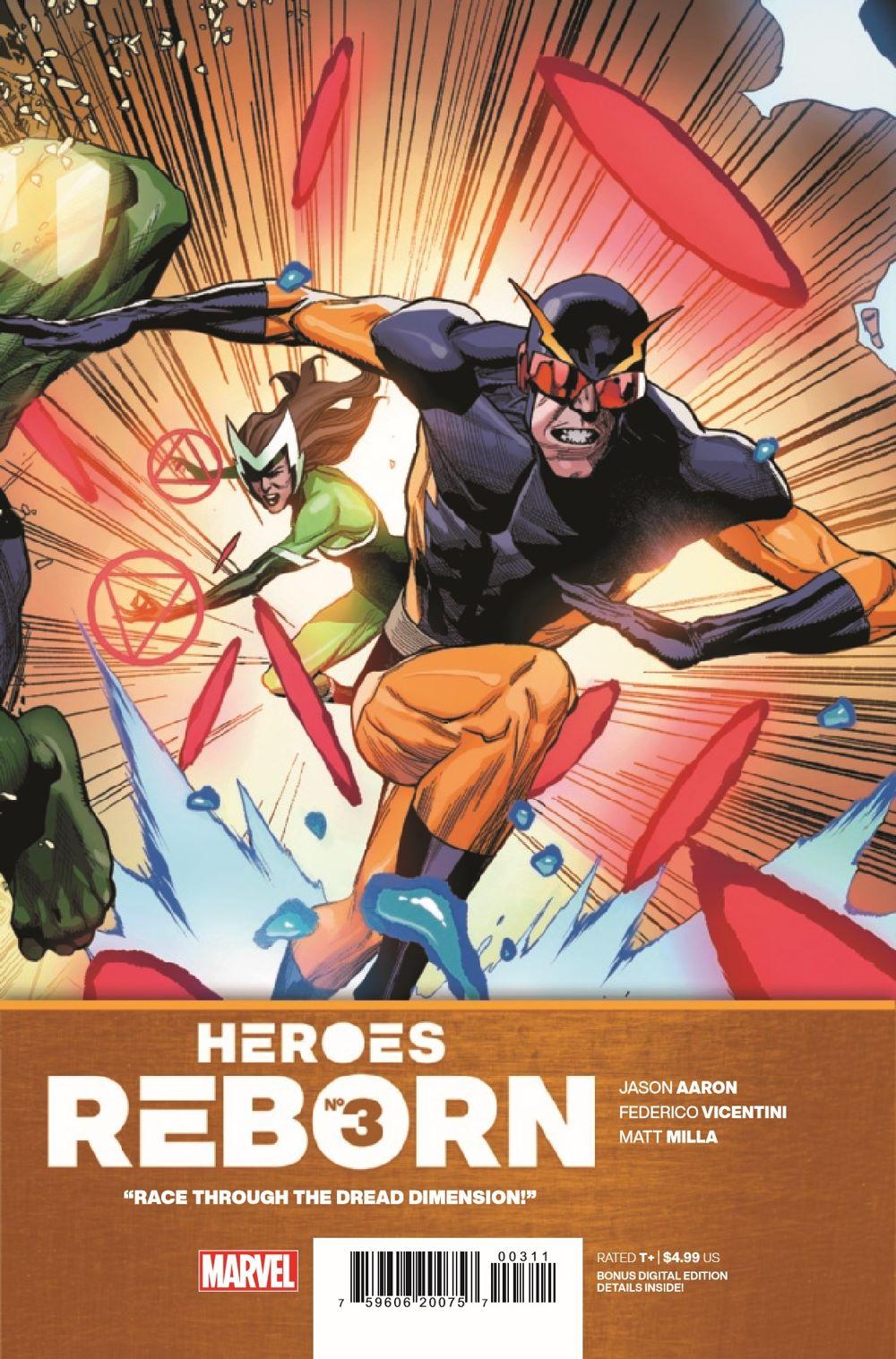 HEROESREBORN2021003_Preview-1 ComicList Previews: HEROES REBORN #3 (OF 7)