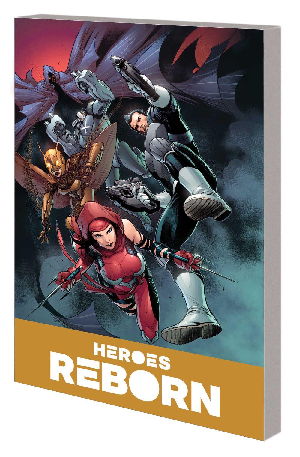 HEROES_REBORN_COMPANION_VOL_2_TPB Marvel Comics August 2021 Solicitations