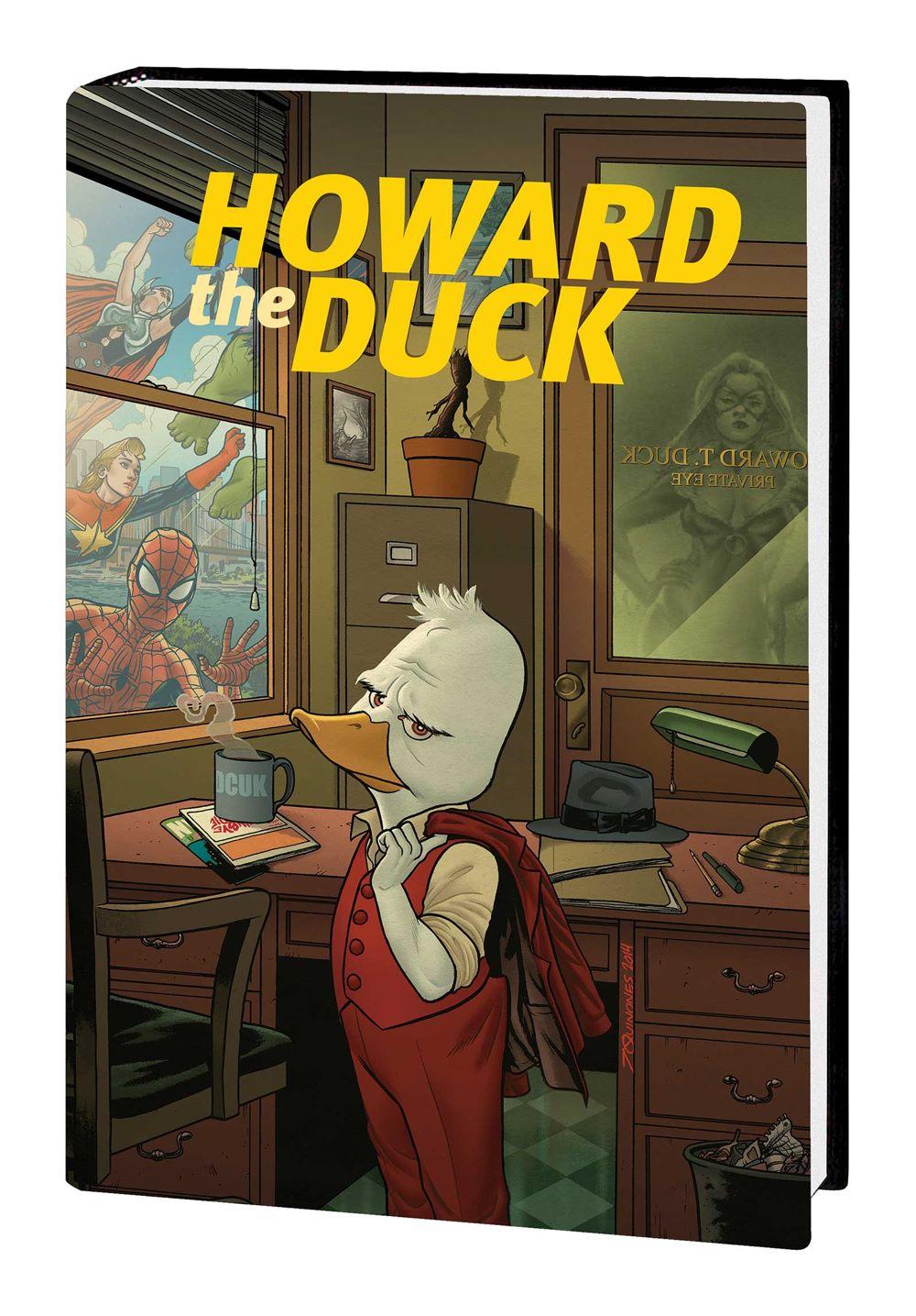 HOWARDTD_ZQ_OMNI_HC Marvel Comics August 2021 Solicitations