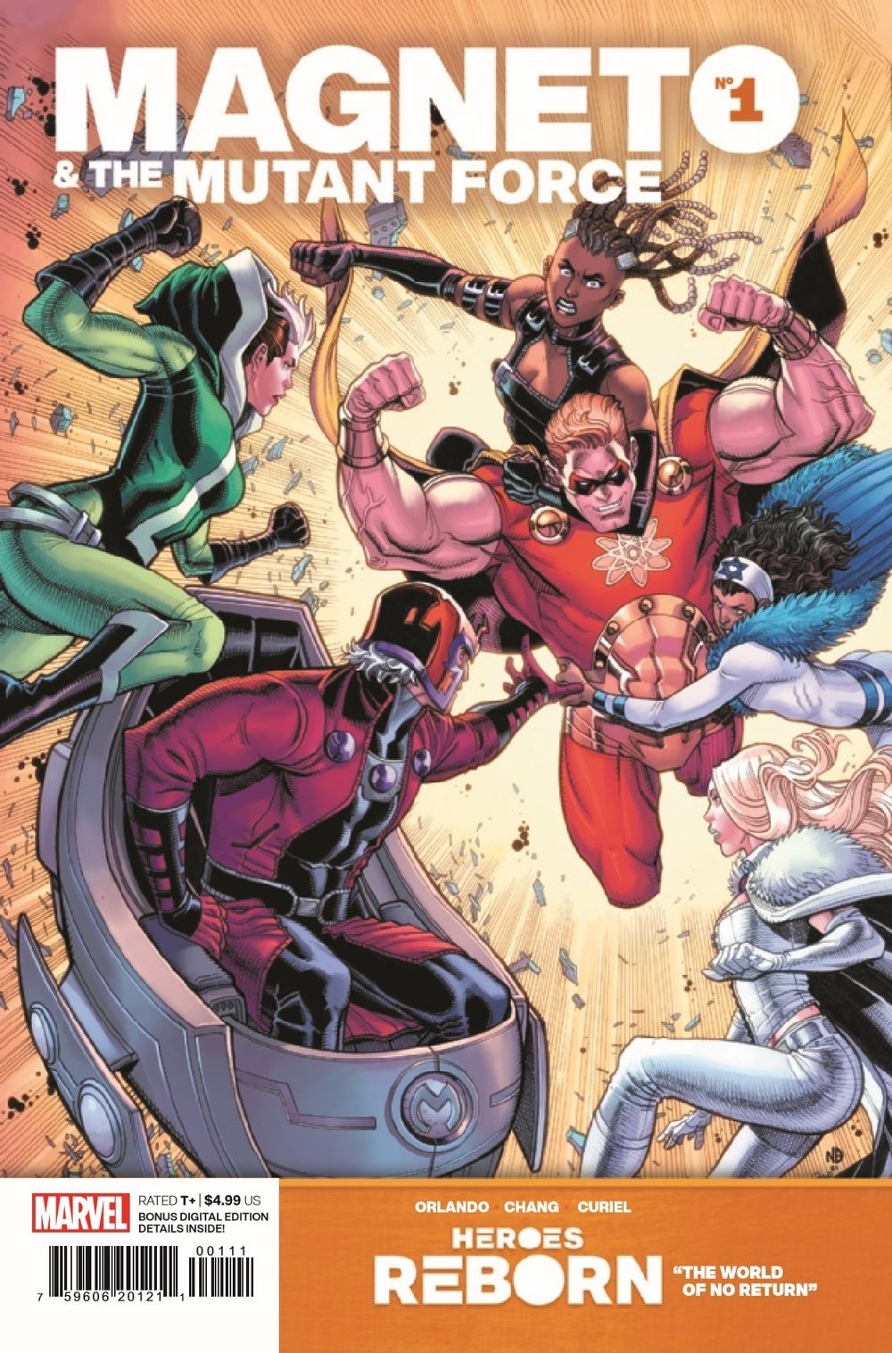 HRMAGNETOMF2021001_Preview-1 ComicList Previews: HEROES REBORN MAGNETO AND THE MUTANT FORCE #1