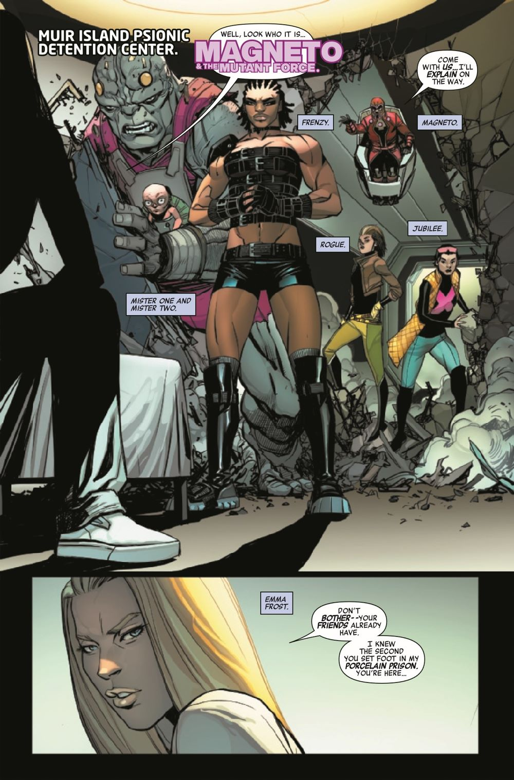 HRMAGNETOMF2021001_Preview-3 ComicList Previews: HEROES REBORN MAGNETO AND THE MUTANT FORCE #1