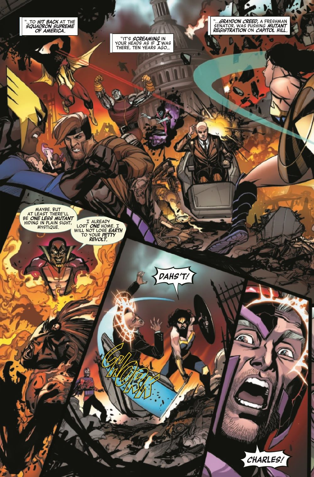HRMAGNETOMF2021001_Preview-4 ComicList Previews: HEROES REBORN MAGNETO AND THE MUTANT FORCE #1