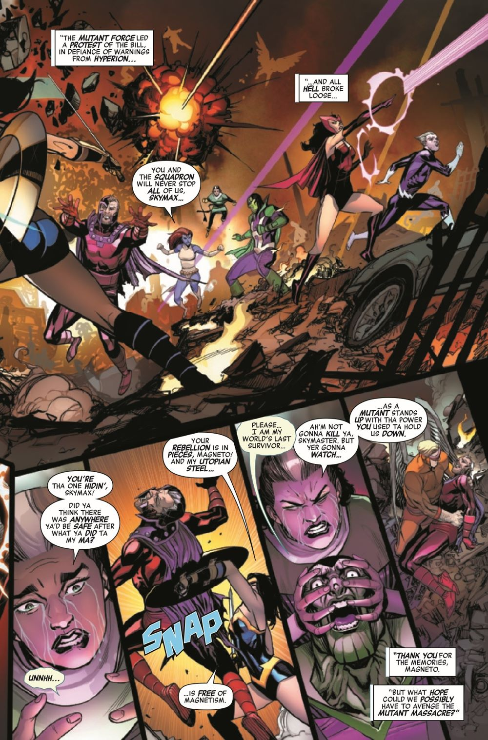 HRMAGNETOMF2021001_Preview-5 ComicList Previews: HEROES REBORN MAGNETO AND THE MUTANT FORCE #1