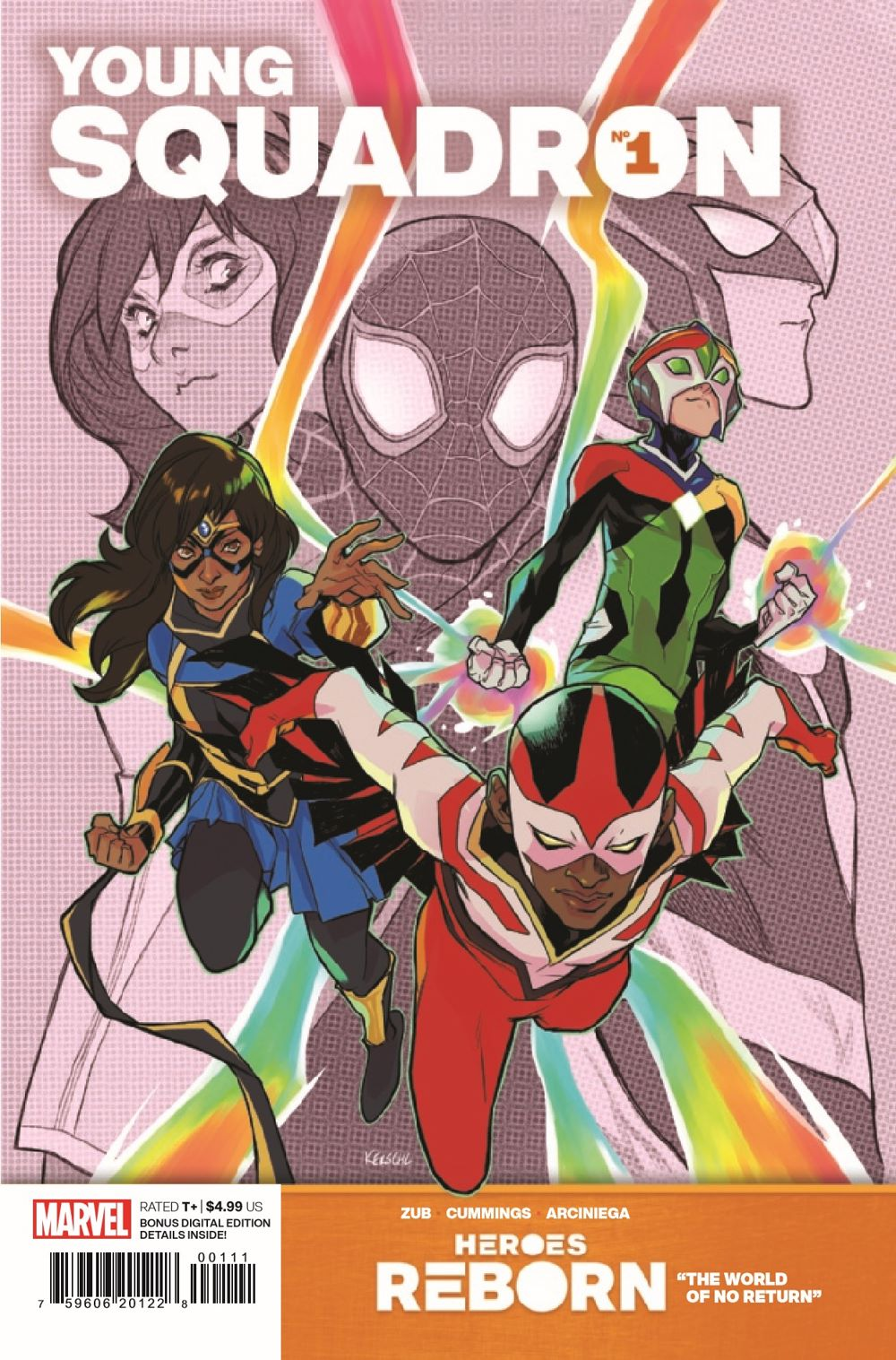 HRYOUNGSQ2021001_Preview-1 ComicList Previews: HEROES REBORN YOUNG SQUADRON #1