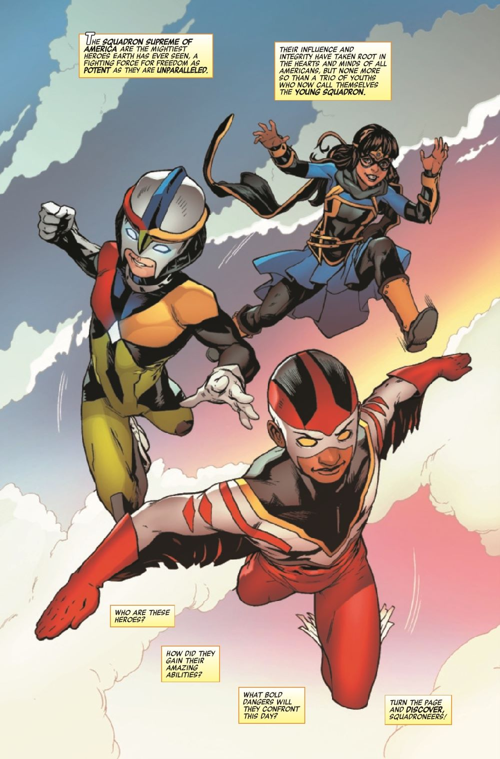 HRYOUNGSQ2021001_Preview-3 ComicList Previews: HEROES REBORN YOUNG SQUADRON #1