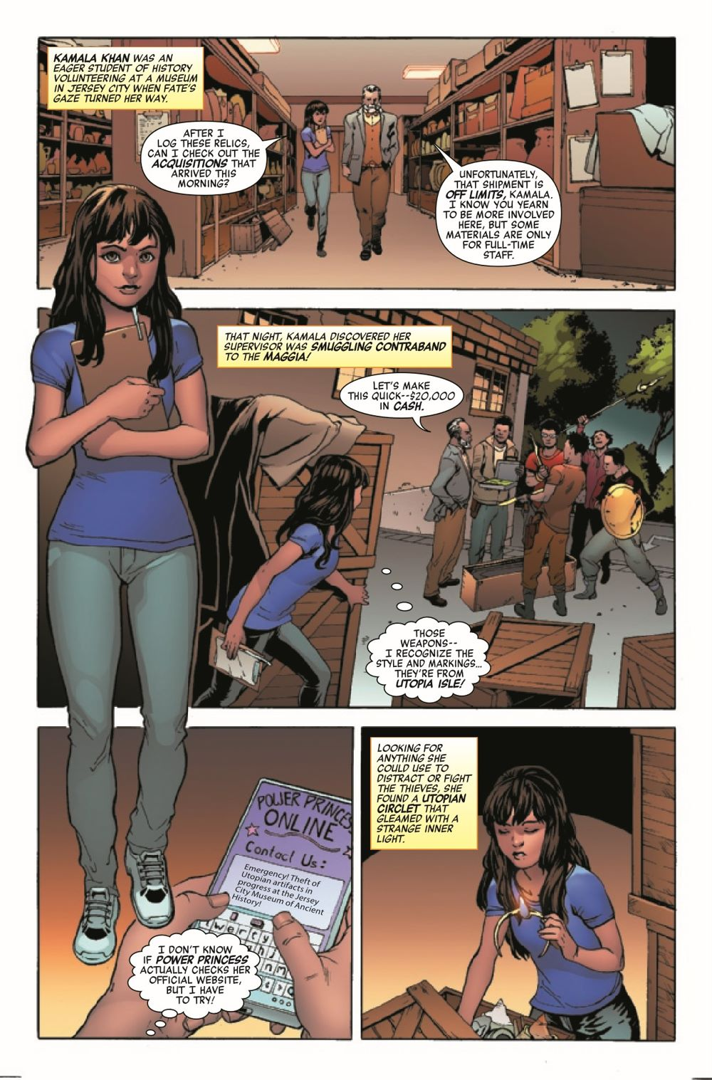 HRYOUNGSQ2021001_Preview-4 ComicList Previews: HEROES REBORN YOUNG SQUADRON #1