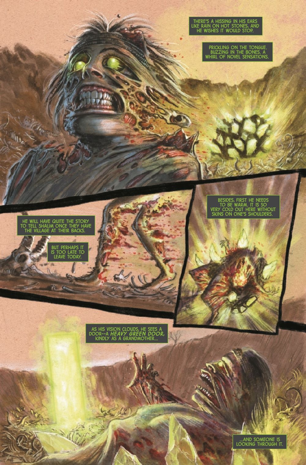 HULKTOMONSTR2021001_Preview-5 ComicList Previews: THE IMMORTAL HULK TIME OF MONSTERS #1