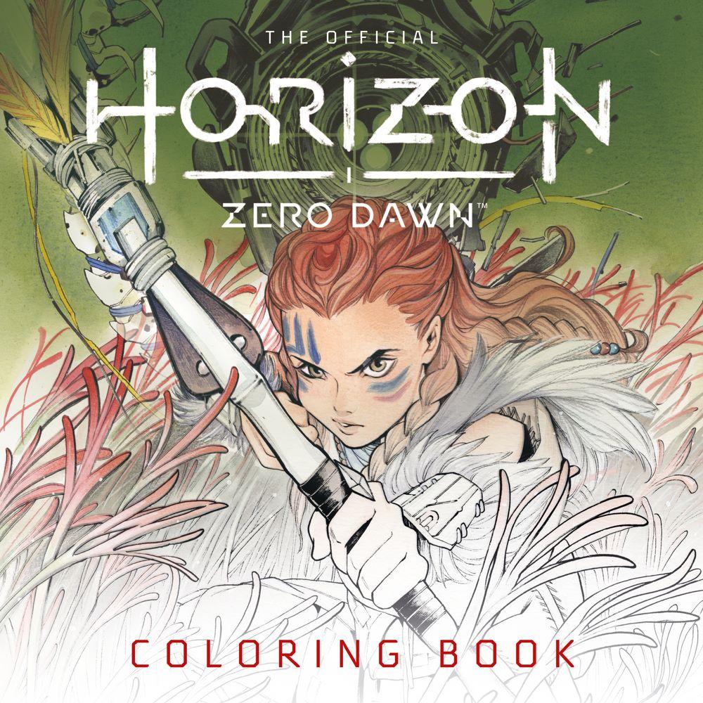 HZDColouring-BOOK Titan Comics August 2021 Solicitations