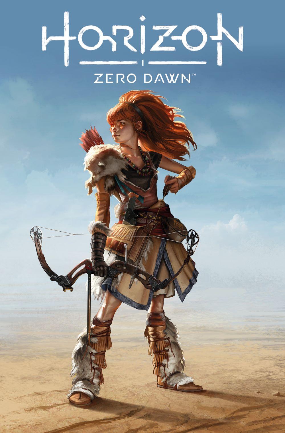 HorizonZeroDawn_2_B_GameArt Titan Comics August 2021 Solicitations