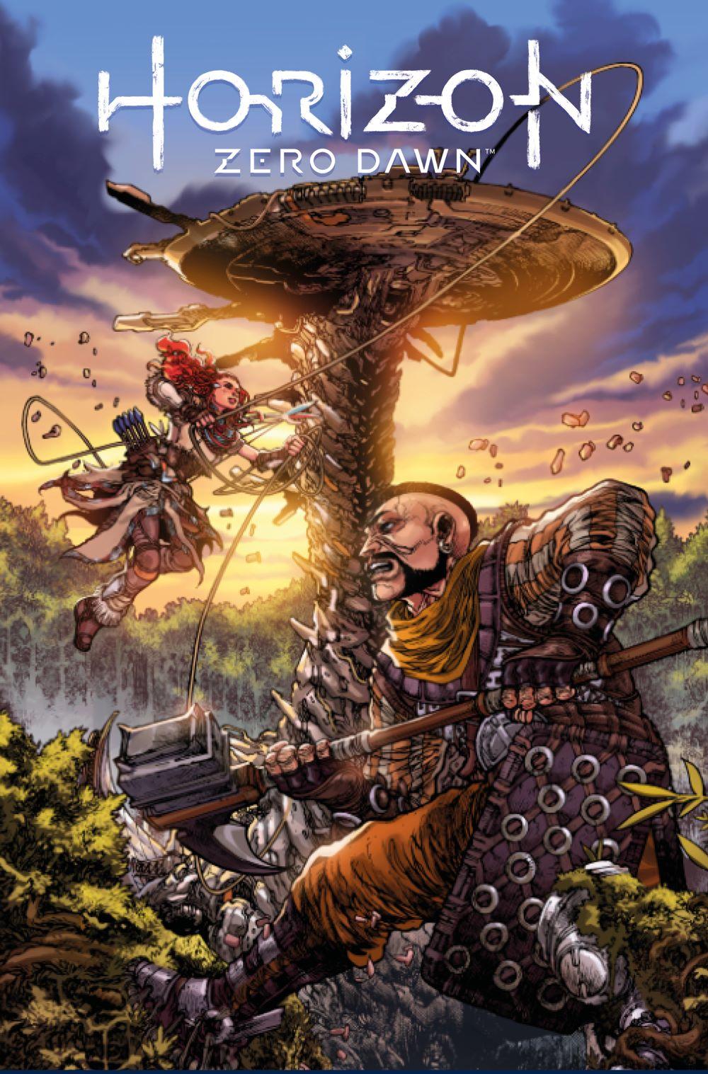 HorizonZeroDawn_2_C_TOLIBAO Titan Comics August 2021 Solicitations
