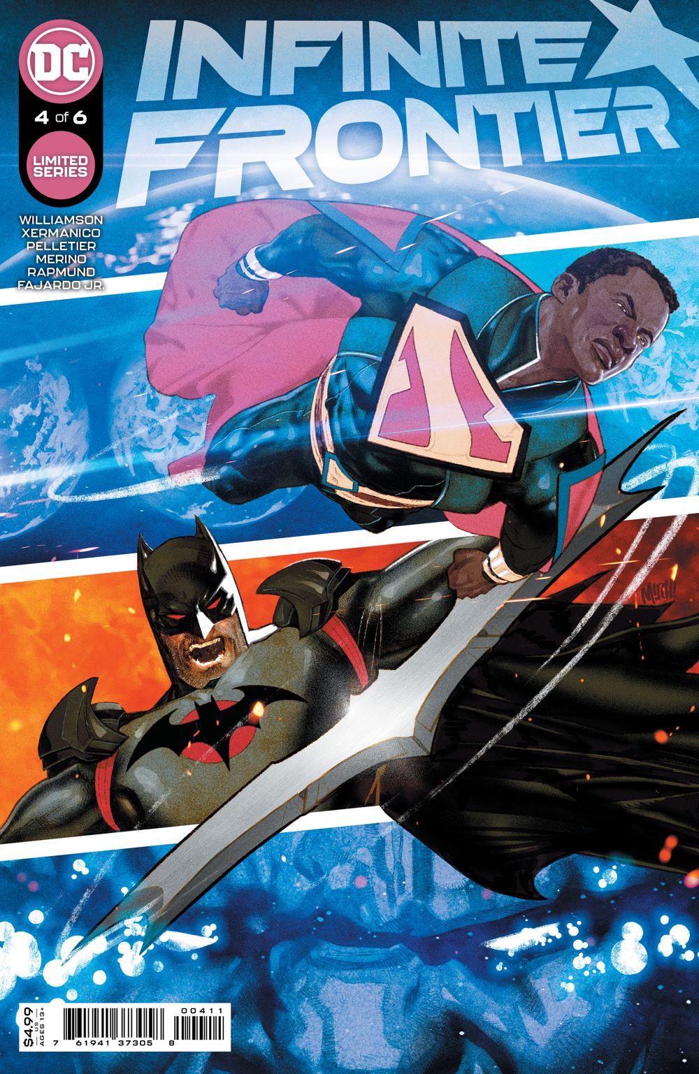 INFINITE_FRONTIER_Cv4 DC Comics August 2021 Solicitations