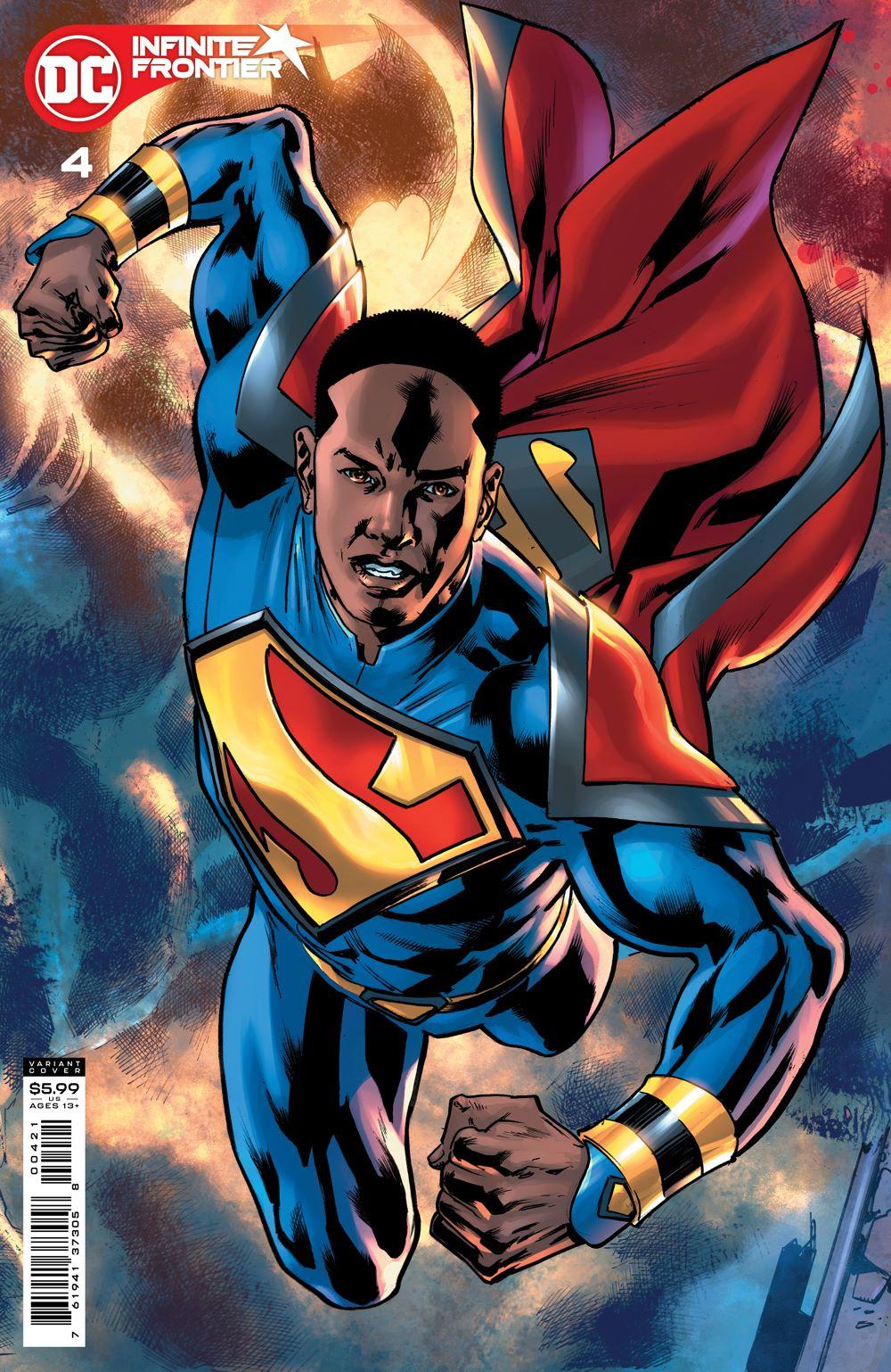 INFINITE_FRONTIER_Cv4_var DC Comics August 2021 Solicitations