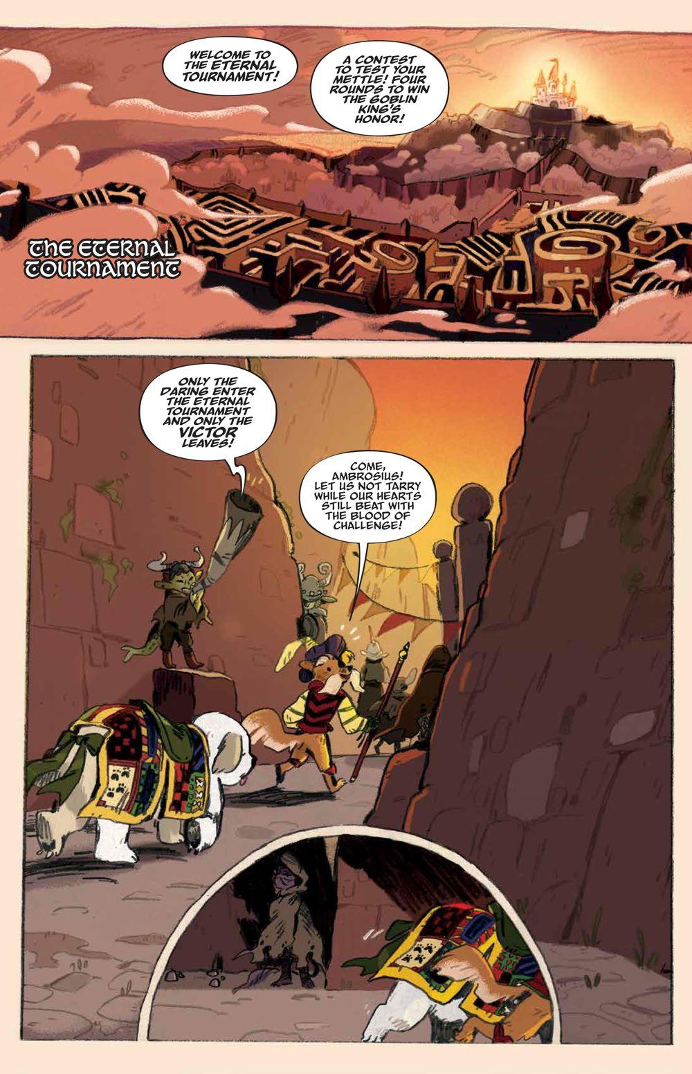 Labyrinth_UnderSpell_HC_PRESS_11 ComicList Previews: JIM HENSON'S LABYRINTH UNDER THE SPELL HC