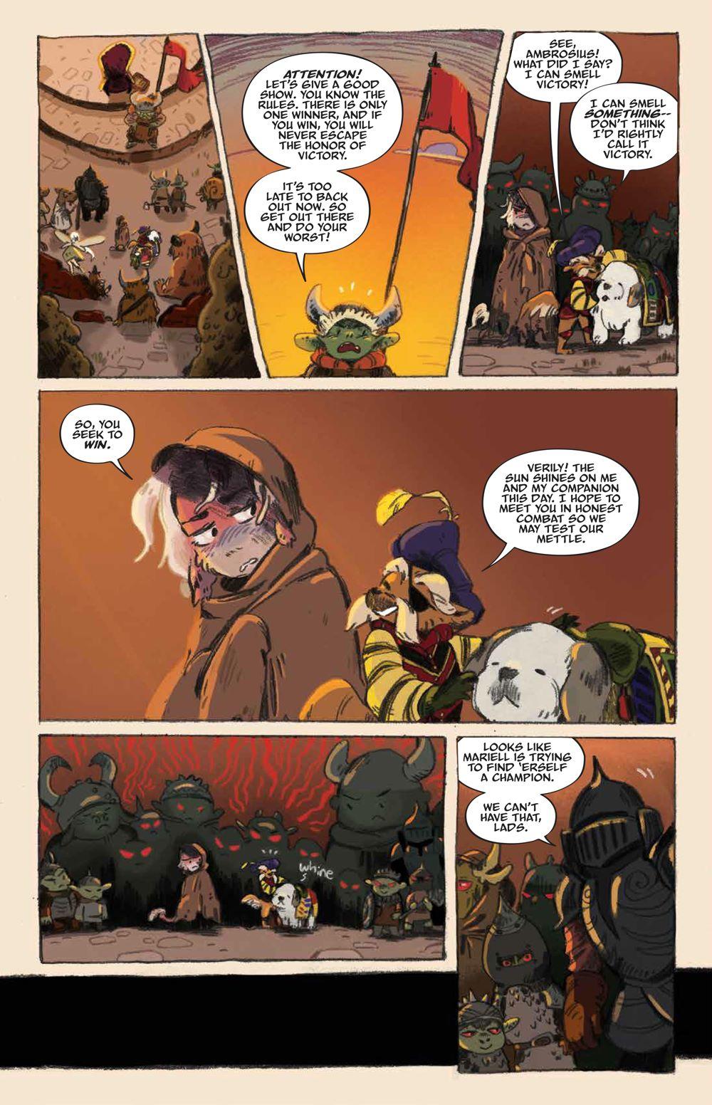 Labyrinth_UnderSpell_HC_PRESS_14 ComicList Previews: JIM HENSON'S LABYRINTH UNDER THE SPELL HC