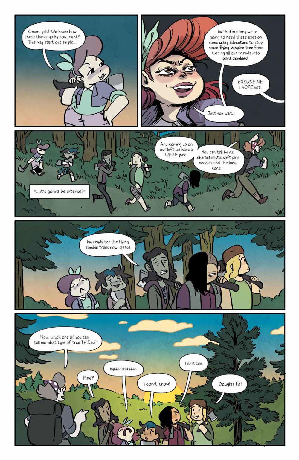 Lumberjanes_v18_SC_PRESS_13 ComicList Previews: LUMBERJANES VOLUME 18 TP