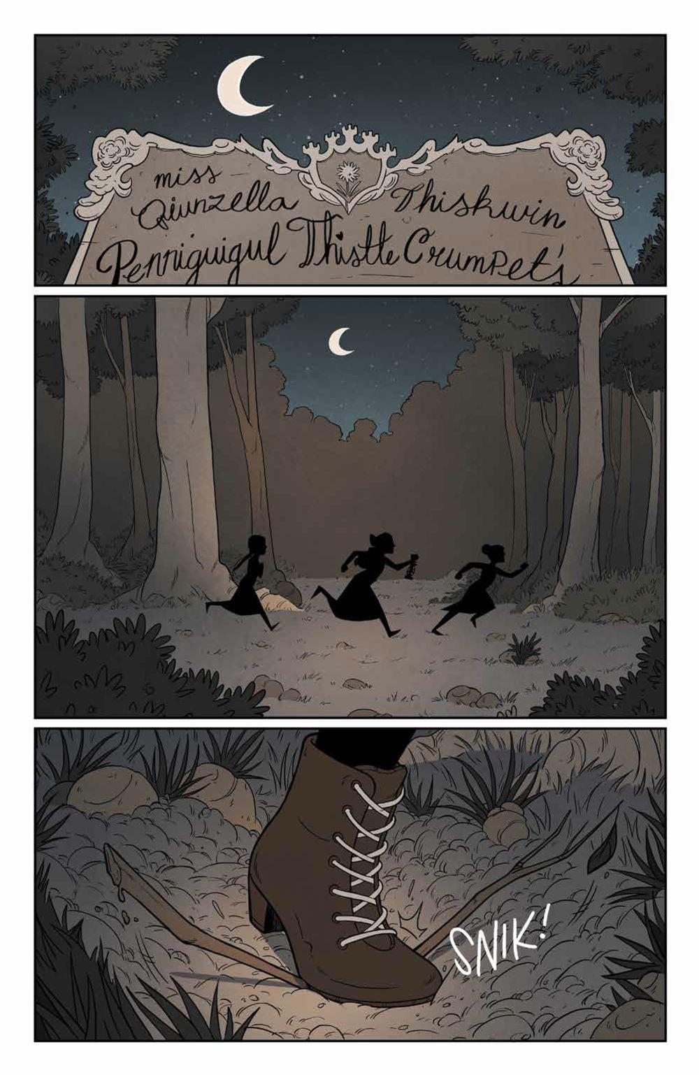 Lumberjanes_v18_SC_PRESS_9 ComicList Previews: LUMBERJANES VOLUME 18 TP