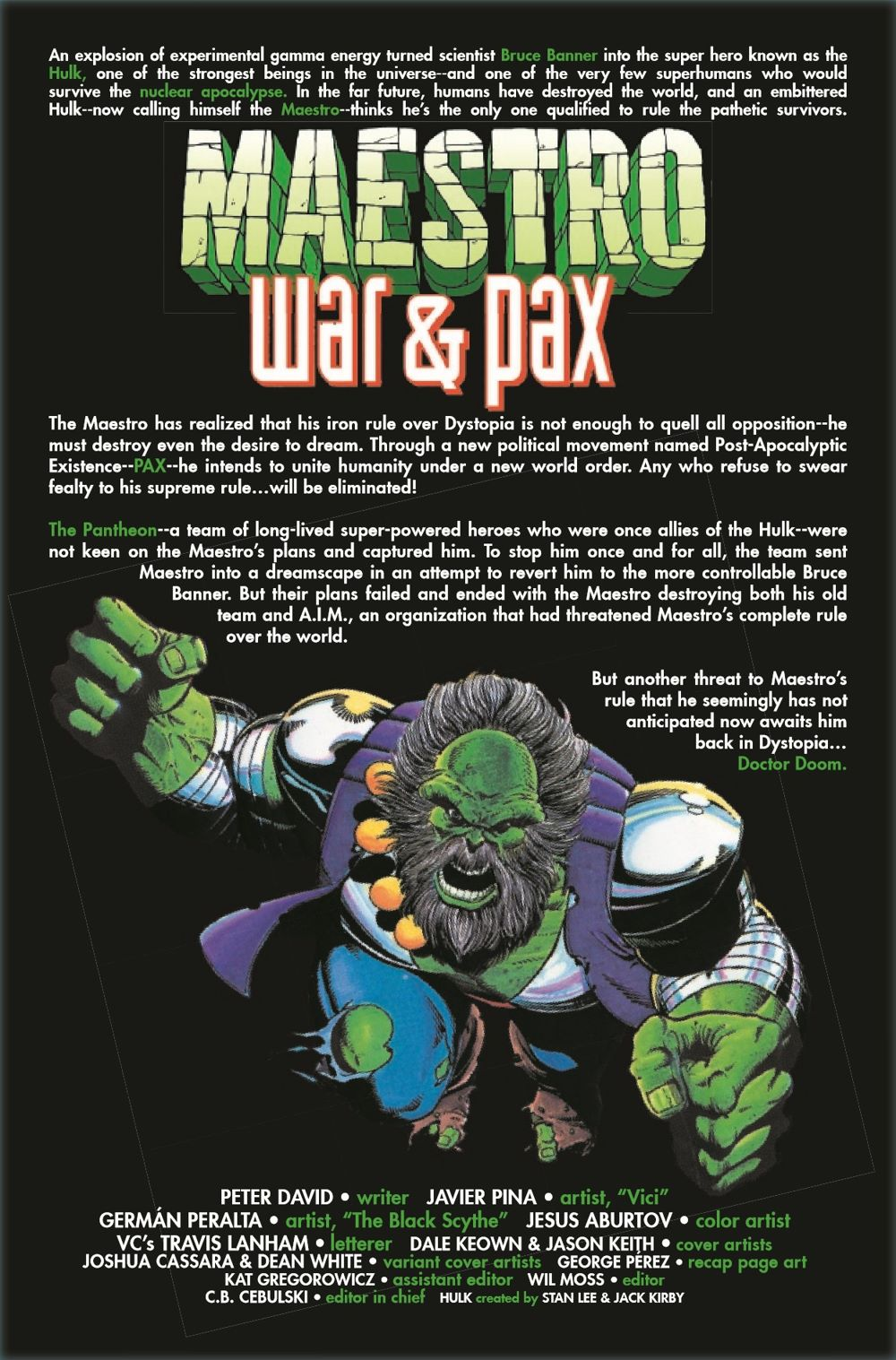MAESTROWAP2021005_Preview-2 ComicList Previews: MAESTRO WAR AND PAX #5 (OF 5)