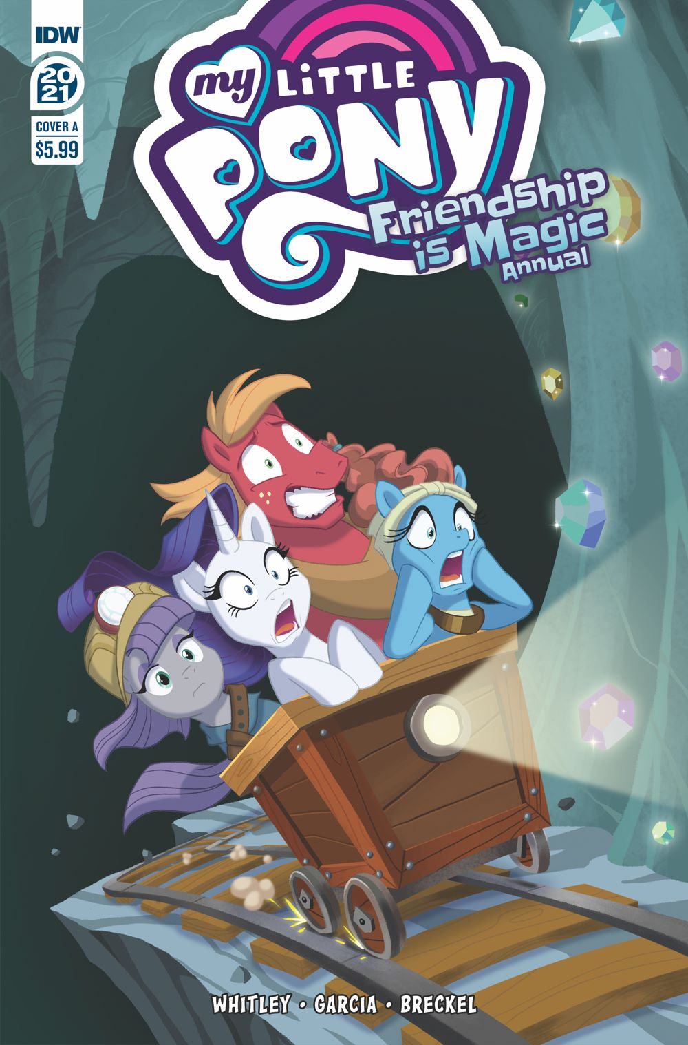 MLP_Annual2021-coverA ComicList Previews: MY LITTLE PONY FRIENDSHIP IS MAGIC 2021 ANNUAL
