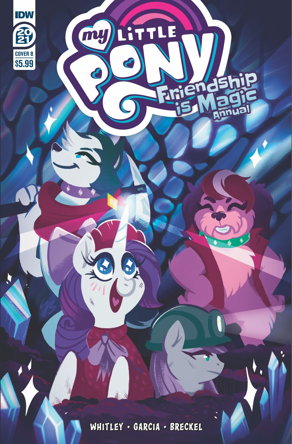 MLP_Annual2021-coverB ComicList Previews: MY LITTLE PONY FRIENDSHIP IS MAGIC 2021 ANNUAL
