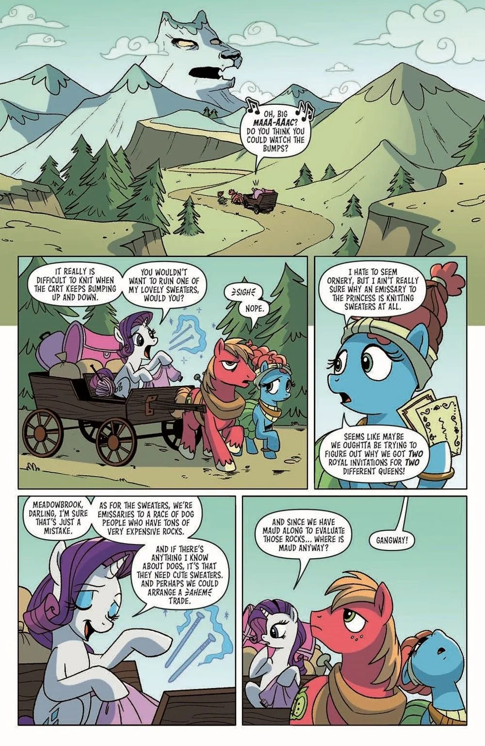 MLP_Annual2021-pr-3 ComicList Previews: MY LITTLE PONY FRIENDSHIP IS MAGIC 2021 ANNUAL