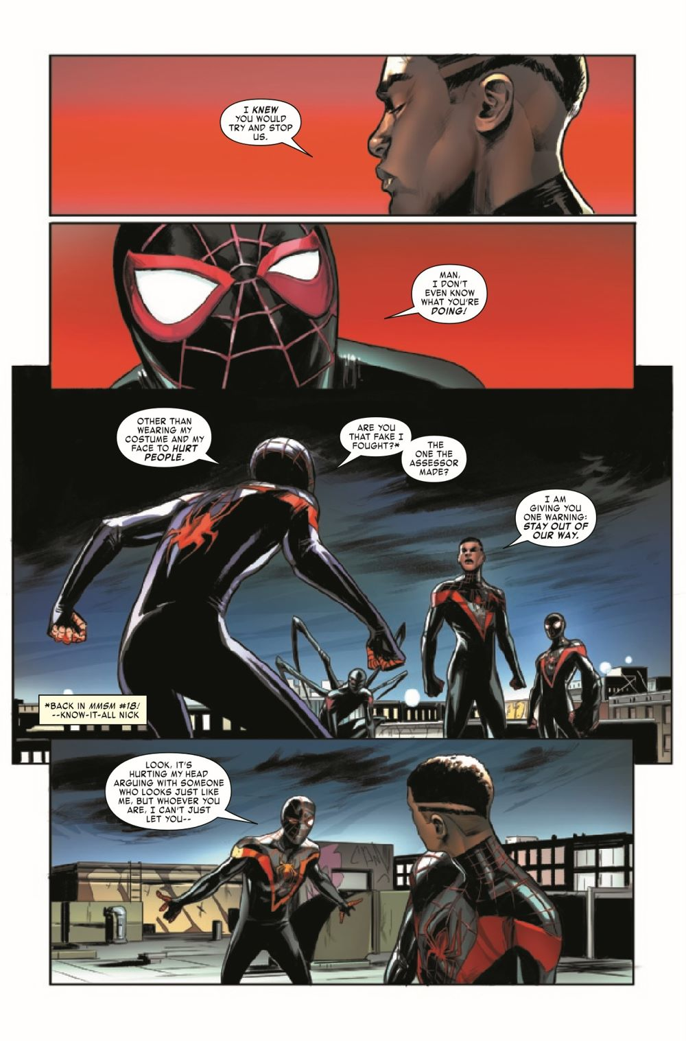 MMSM2018026_Preview-3 ComicList Previews: MILES MORALES SPIDER-MAN #26
