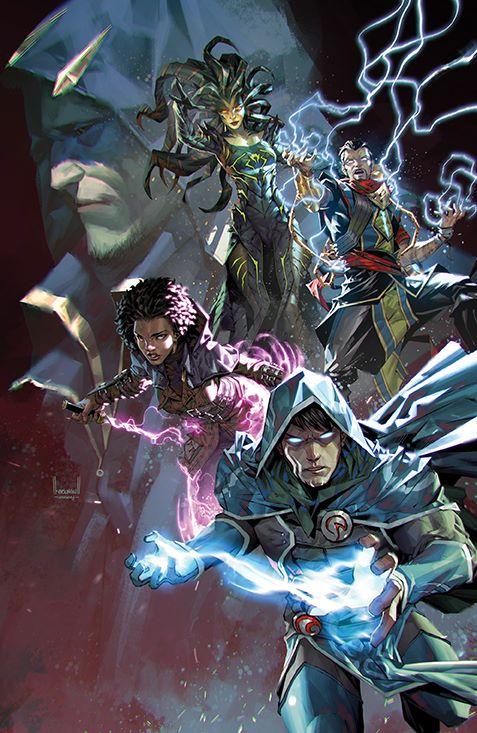 Magic_002_Cover_F_Variant ComicList: BOOM! Studios New Releases for 05/12/2021