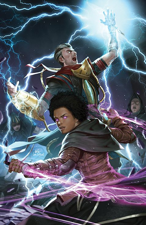 Magic_002_Cover_G_Variant ComicList: BOOM! Studios New Releases for 05/12/2021