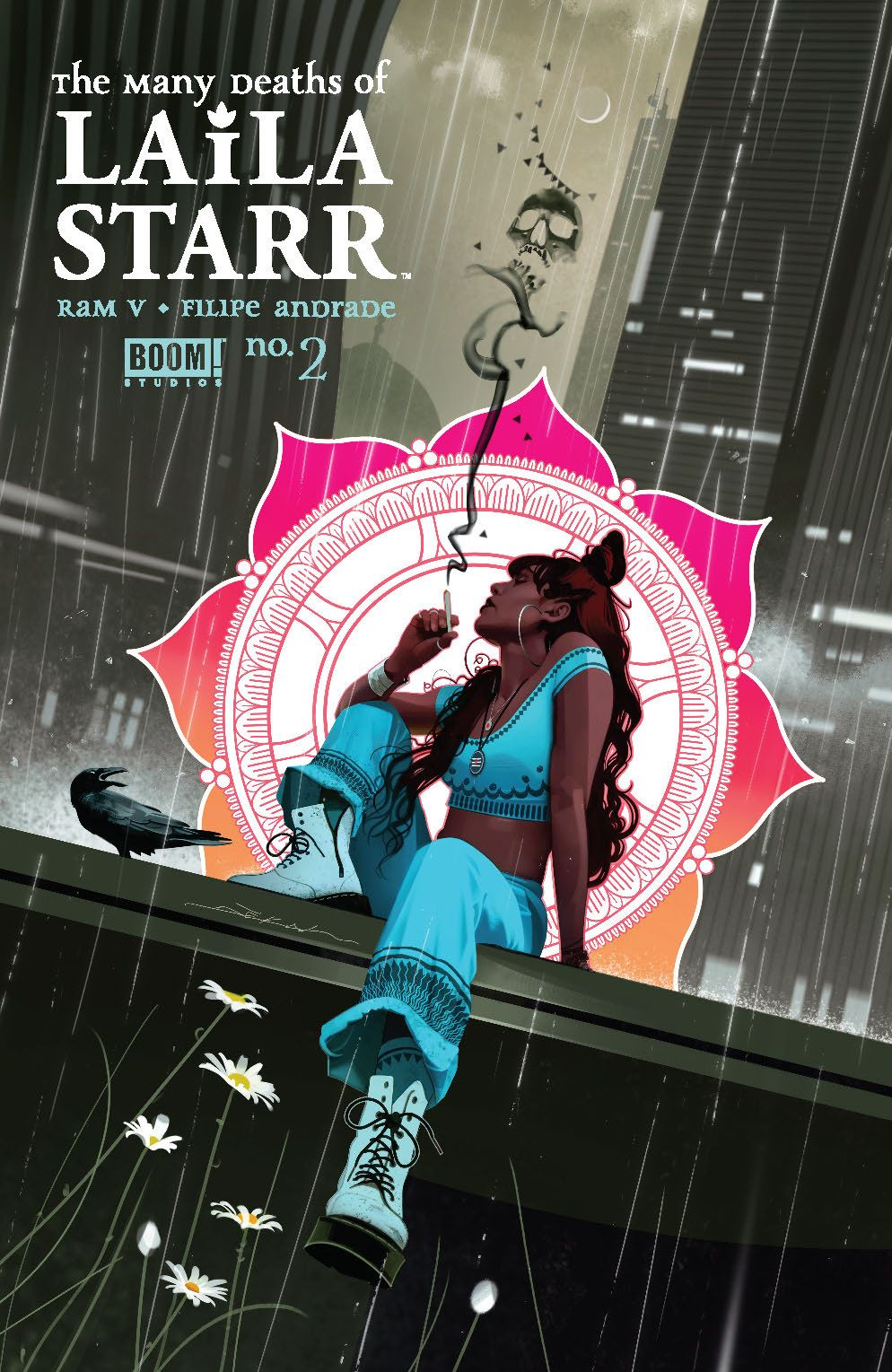 ManyDeathsLailaStarr_002_Cover_C_Variant ComicList Previews: THE MANY DEATHS OF LAILA STARR #2 (OF 5)