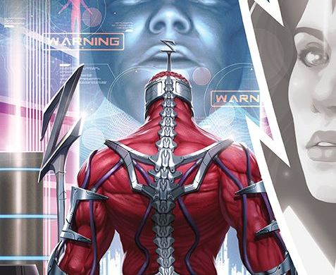 MightyMorphin_007_Cover_A_Main ComicList Previews: MIGHTY MORPHIN #7