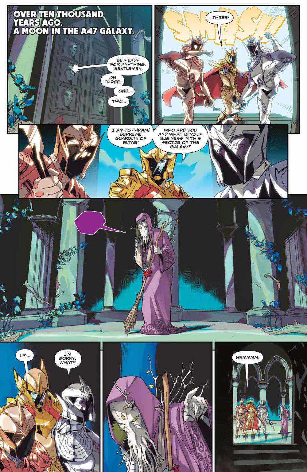 MightyMorphin_007_PRESS_3 ComicList Previews: MIGHTY MORPHIN #7