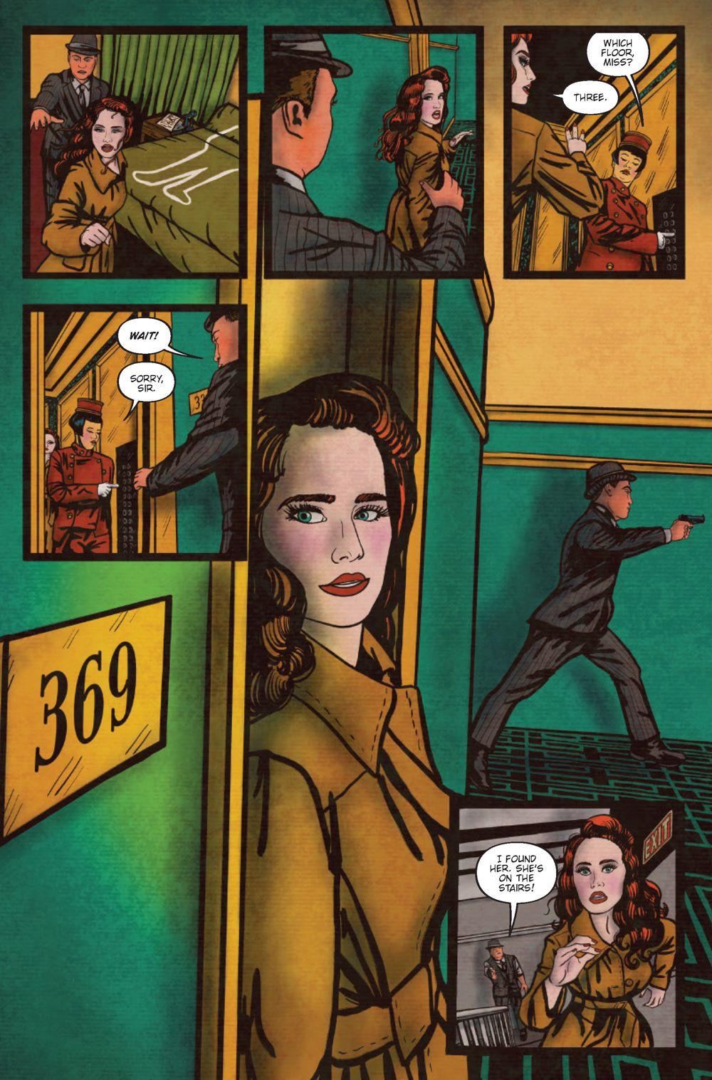 Minky-Woodcock-2-Interiors_Page_5 ComicList Previews: MINKY WOODCOCK THE GIRL WHO ELECTRIFIED TESLA #2