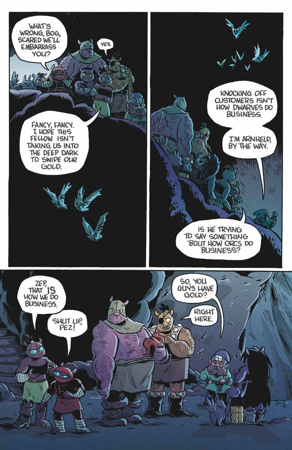 Orcs_004_PRESS_6 ComicList Previews: ORCS! #4 (OF 6)