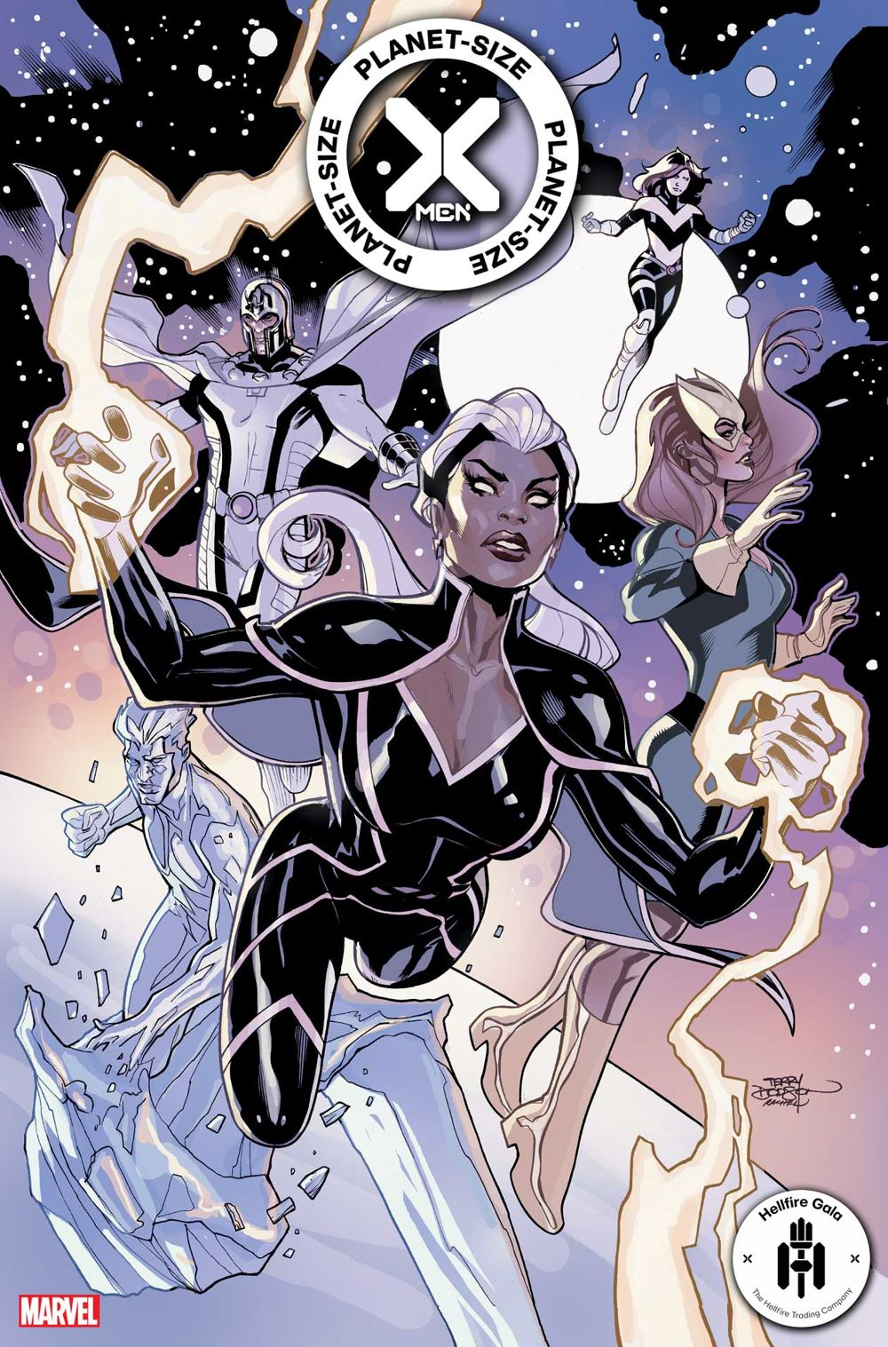 PSXMEN2021001_Dodson-var First Look at PLANET-SIZE X-MEN #1 from Marvel Comics