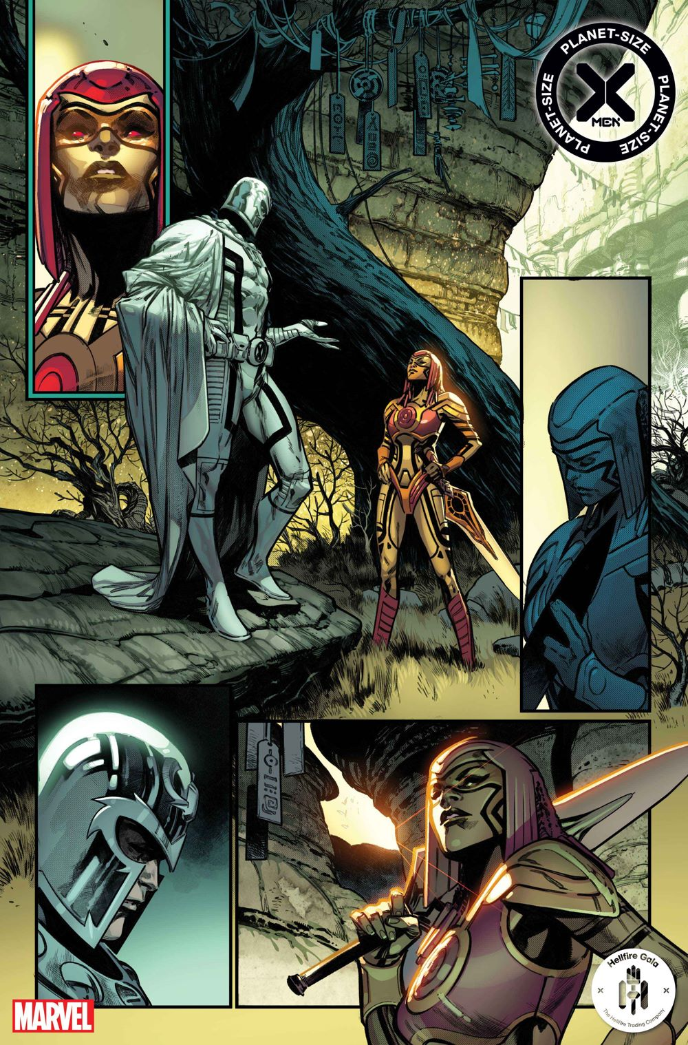PSXMEN2021001_Interior1 First Look at PLANET-SIZE X-MEN #1 from Marvel Comics
