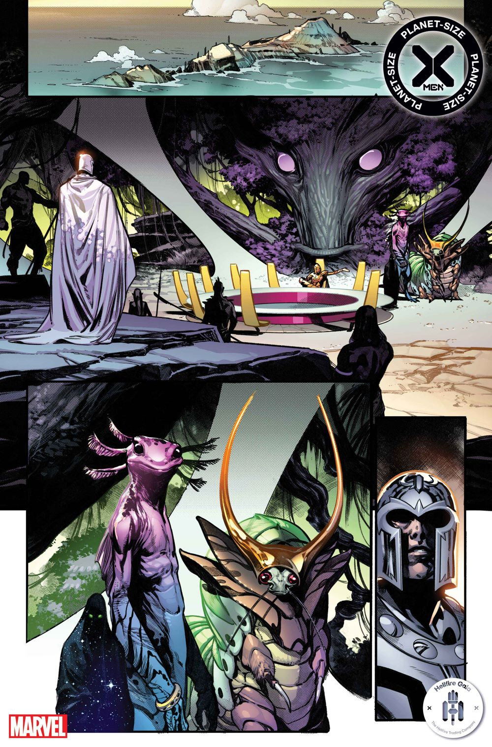 PSXMEN2021001_Interior4 First Look at PLANET-SIZE X-MEN #1 from Marvel Comics