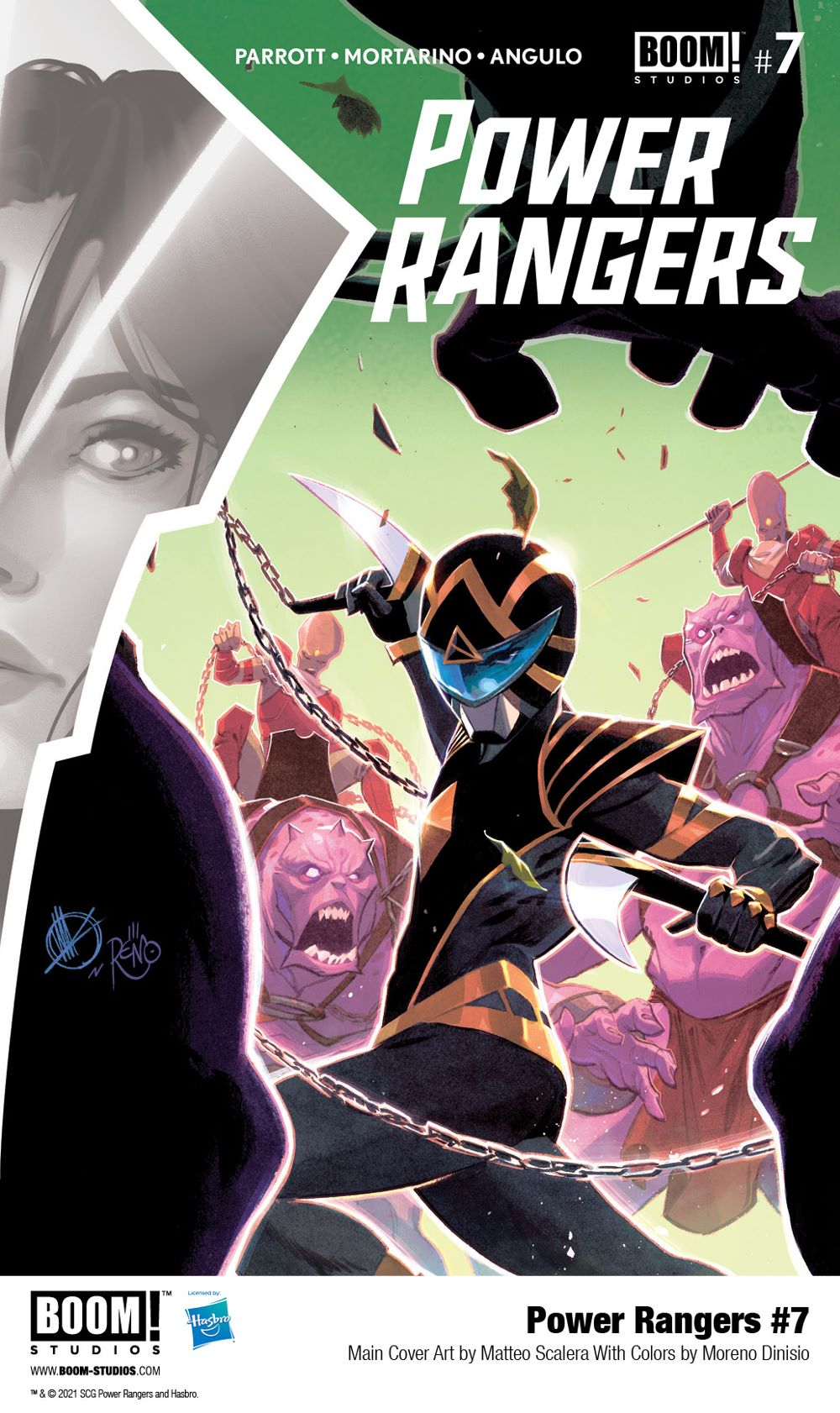 PowerRangers_007_Cover_A_Main_PROMO First Look at POWER RANGERS #7 by BOOM! Studios